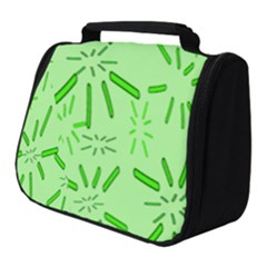 Electric Lime Full Print Travel Pouch (small)