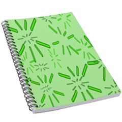 Electric Lime 5 5  X 8 5  Notebook