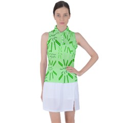 Electric Lime Women s Sleeveless Polo Tee