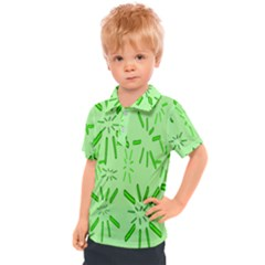 Electric Lime Kids  Polo Tee