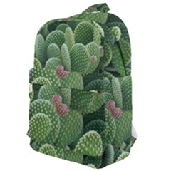 Green Cactus Classic Backpack by Sparkle