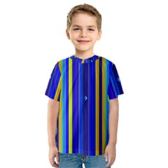 Blueyellow  Kids  Sport Mesh Tee
