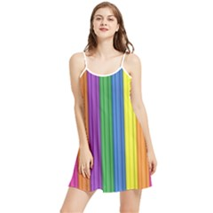 Colorful Spongestrips Summer Frill Dress by Sparkle