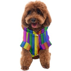 Colorful Spongestrips Dog Coat by Sparkle