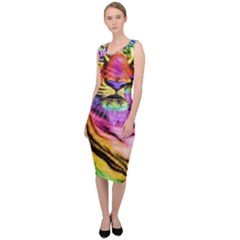 Rainbowtiger Sleeveless Pencil Dress by Sparkle