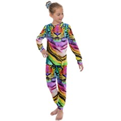 Rainbowtiger Kids  Long Sleeve Set  by Sparkle