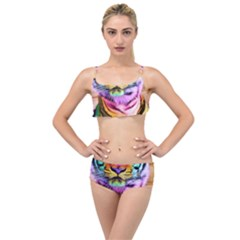Rainbowtiger Layered Top Bikini Set by Sparkle