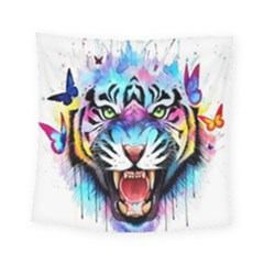 Butterflytiger Square Tapestry (small) by Sparkle