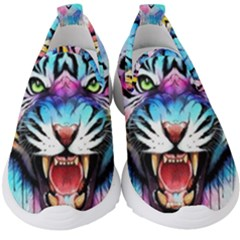 Butterflytiger Kids  Slip On Sneakers by Sparkle
