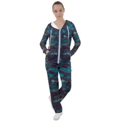Realeafs Pattern Women s Tracksuit by Sparkle