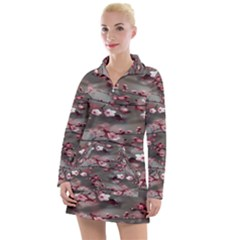 Realflowers Women s Long Sleeve Casual Dress
