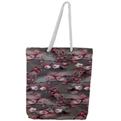 Realflowers Full Print Rope Handle Tote (large)