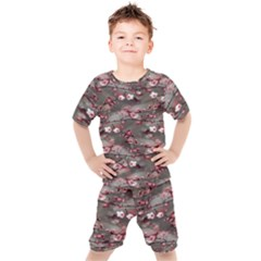 Realflowers Kids  Tee And Shorts Set
