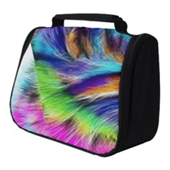 Rainbowcat Full Print Travel Pouch (small)