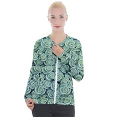 Realflowers Casual Zip Up Jacket by Sparkle