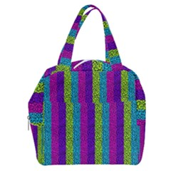 Glitter Strips Boxy Hand Bag by Sparkle