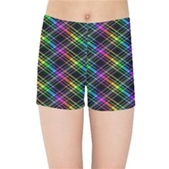 Rainbow Sparks Kids  Sports Shorts by Sparkle