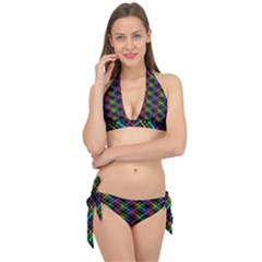 Rainbow Sparks Tie It Up Bikini Set
