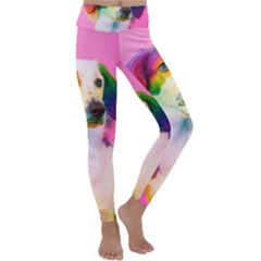 Rainbowdog Kids  Lightweight Velour Classic Yoga Leggings
