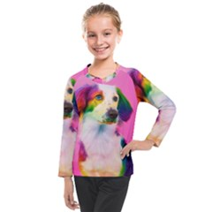 Rainbowdog Kids  Long Mesh Tee