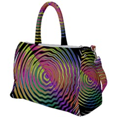 Rainbowwaves Duffel Travel Bag