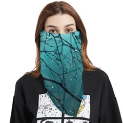 Raindrops Face Covering Bandana (triangle) by Sparkle