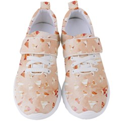 Autumn Abstract Women s Velcro Strap Shoes