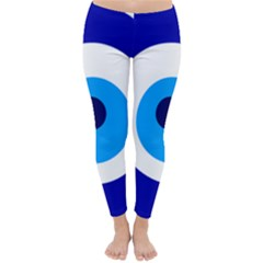 Evil Eye Classic Winter Leggings