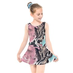 Paola De Giovanni-dragons Fire Iii Kids  Skater Dress Swimsuit