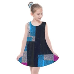 Abstract Tiles Kids  Summer Dress by essentialimage