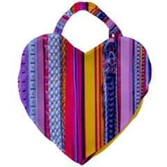 Fashion Belts Giant Heart Shaped Tote