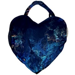 Coral Reef Giant Heart Shaped Tote