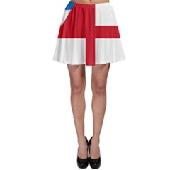 Naval Ensign Of Antigua & Barbuda Skater Skirt by abbeyz71