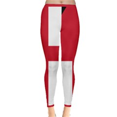 Naval Ensign Of Antigua & Barbuda Inside Out Leggings by abbeyz71