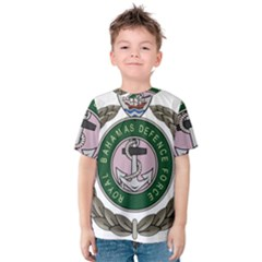 Emblem Of Bahamas Defence Force  Kids  Cotton Tee