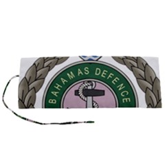 Emblem Of Bahamas Defence Force  Roll Up Canvas Pencil Holder (s)