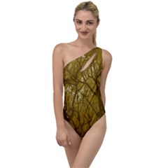 Forest Landscape Illustration 2 To One Side Swimsuit