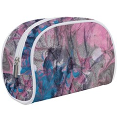 Brush Strokes On Marbling Patterns Makeup Case (large)