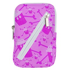 Cupycakespink Belt Pouch Bag (large)