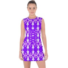 Jokerscullz Lace Up Front Bodycon Dress