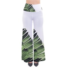 Green Banana Leaves So Vintage Palazzo Pants by goljakoff