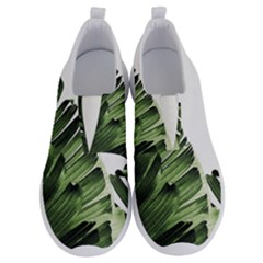 Green Banana Leaves No Lace Lightweight Shoes by goljakoff