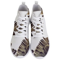 Vintage Banana Leaves Men s Lightweight High Top Sneakers by goljakoff