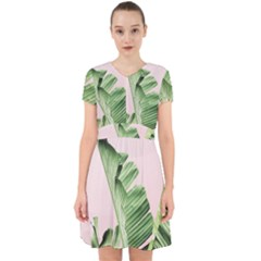 Palm Leaf Adorable In Chiffon Dress by goljakoff