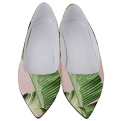 Palm Leaf Women s Low Heels by goljakoff