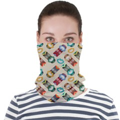 Ethnic Tribal Masks Face Seamless Bandana (adult)