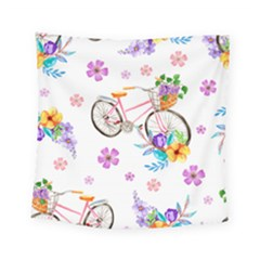 Cycle Ride Square Tapestry (small)