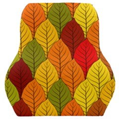Autumn Leaves Car Seat Back Cushion  by designsbymallika