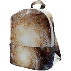 Galaxy Space Zip Up Backpack