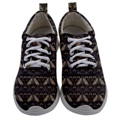 Moth Pattern Mens Athletic Shoes by GretaBerlin